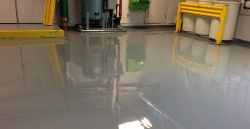Industrial Floor Coating Painting Banner
